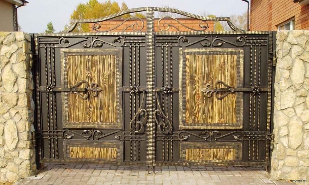 Дизайнерские ворота