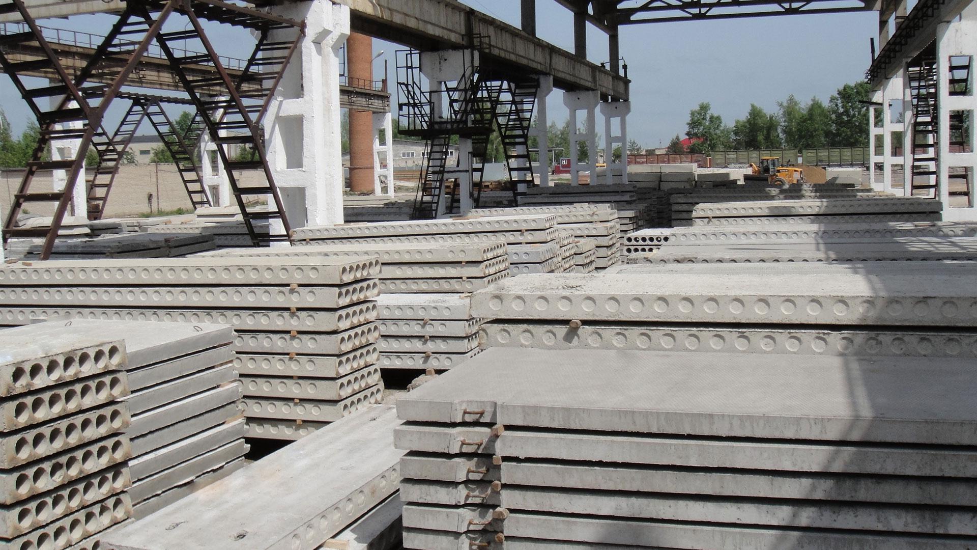 Применение железо-бетонных изделий: их классификация